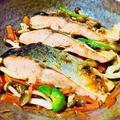 ワンパンで簡単♪鮭の醤油バター蒸し焼き♡ by Loco Ricoさん
