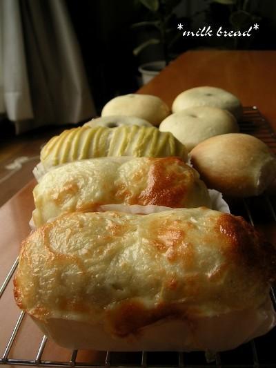チーズウインナーパンとアンパンと