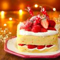 クリスマス当日でもすぐ作れる! レンジ「スポンジケーキ」で作るショートケーキの簡単レシピ