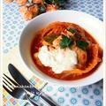 鶏胸肉と焼きキャベツのトマト煮込み ~ 小岩井とろとろチーズ添え by 庭乃桃さん