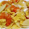 海老と卵の炒め物<プリプリ♪ふわふわ>