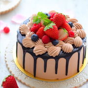 インスタで大人気!ソースがとろーりしたたる「#ドリップケーキ」