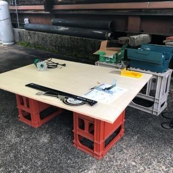 -七輪専用テーブル-