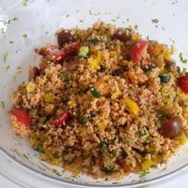 大好きなクスクスのサラダ「タブレ」taboulé