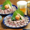 イサキのさばき方と炙り刺身、焼霜、簡単もみじおろしの作り方 by 筋肉料理人さん