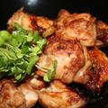 鶏もも肉のニンニク醤油焼