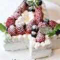 誕生日ケーキの作り方 数字ケーキ4