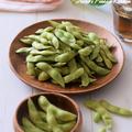 【和風おもてなし】レンチン5分で『枝豆の塩ゆで』を作る方法♡実は栄養価もけっこう高いんです♪