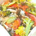 バジルでさっぱり&爽やかイタリアン〜彩り野菜のカルトッチョ。