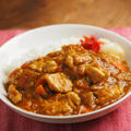 カレー粉で作る鶏むね肉カレー