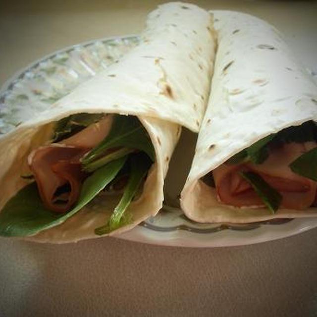 グルテンフリーラツプで健康朝食 朝からしっかり野菜摂取