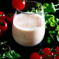 1日の始まりに!美容と健康のドリンク★トマトの飲むヨーグルト