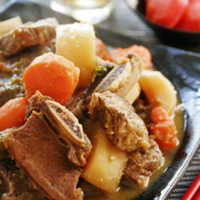 牛カルビの煮物:カルビチム