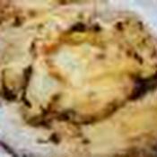 キャベツのつぶ入りマスタード和えマスタードソースピザ