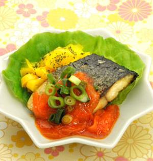 ☆鯖の豆板醤ソース☆