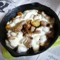 牛カッパ・プチにんにく・男爵のクミン炒め+モッツァレラ