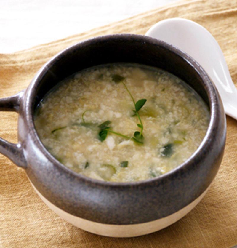 食欲のないときやダイエットに!「くずし豆腐」のヘルシースープ