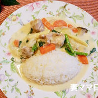 酒粕のミルクシチュー♪ chicken milk stew with sake lees