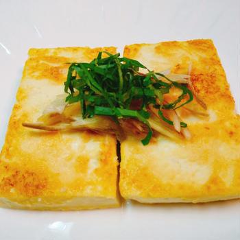 ほんのりチーズ風味で上品な味!豆腐の西京焼き