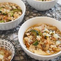 ヤマキだし部*ゴーヤと茗荷の素麺♪(レシピ)