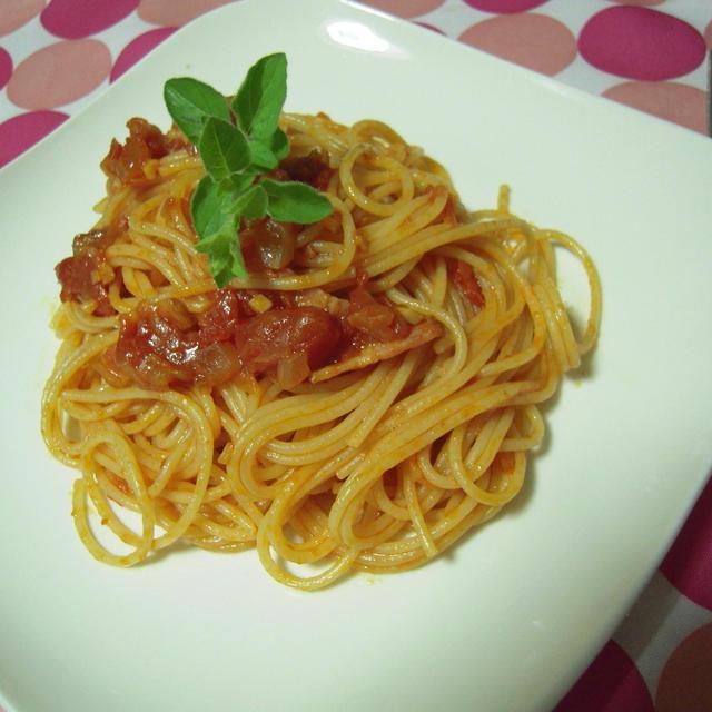 トマトソース・スパゲティ