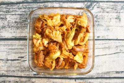 フライパンで簡単レシピ。人気のチーズタッカルビ