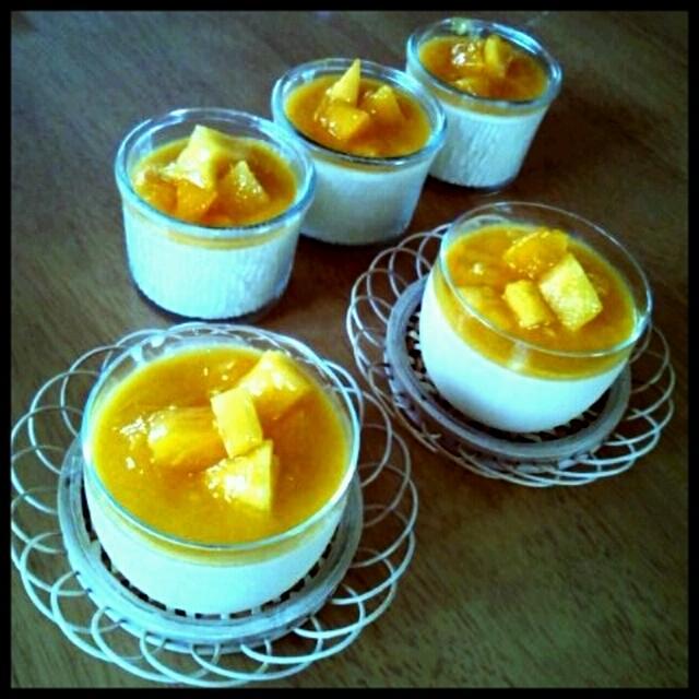 レシピ マンゴー プリン
