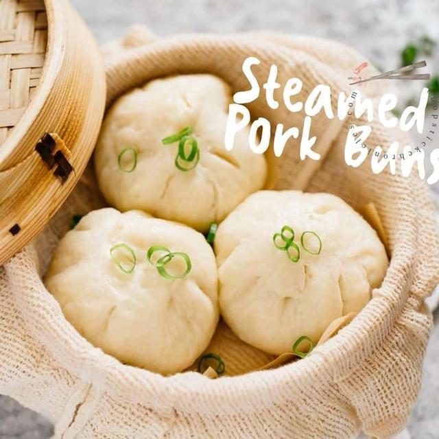 Steamed Pork Buns (Butaman) 豚まん