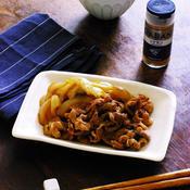 豚肉と玉ねぎのシナモン焼き肉のタレ和え