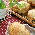 卵なし☆自家製酵母のミルクティクリームパン