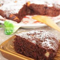 ☆ スパイス大使 ☆ 林檎とレーズンのふわふわチョコケーキ