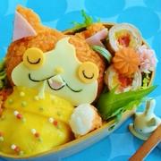 ジバニャンオムライス弁当レシピ☆妖怪ウォッチ♪