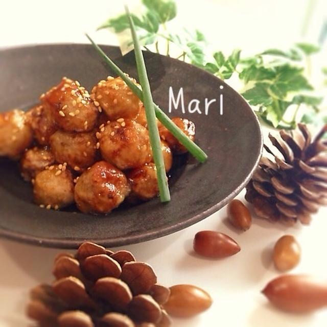 【麺つゆで♪】❤︎ほくほくの幸せ❤︎おつまみにも✌︎里芋のコロコロ揚げ
