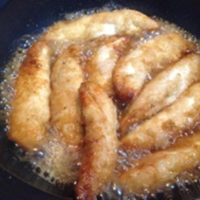 給食レシピ「鶏ささみのレモンしょうゆづけ」