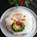 X'mas カップケーキ ミートローフ