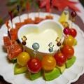 わさびマヨディップ☆ピンチョスサラダ&お知らせ♪ by とまとママさん