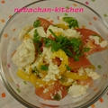 豆腐とトマトのエスニックサラダ