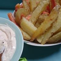 野菜スティックのクリームチーズディップ(レシピ)
