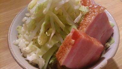 野郎飯流・スパ二郎(自宅で簡単に作る、ラーメン二郎風スパゲッティ)