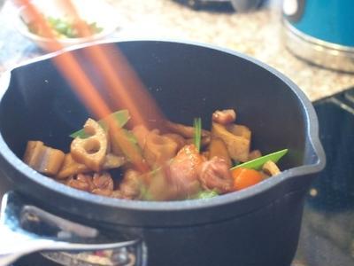 出張レッスン/つややか鍋炊きごはん・やさしい甘みの筑前煮