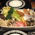海鮮トマト鍋の夜ごはん(簡単作り方付き)