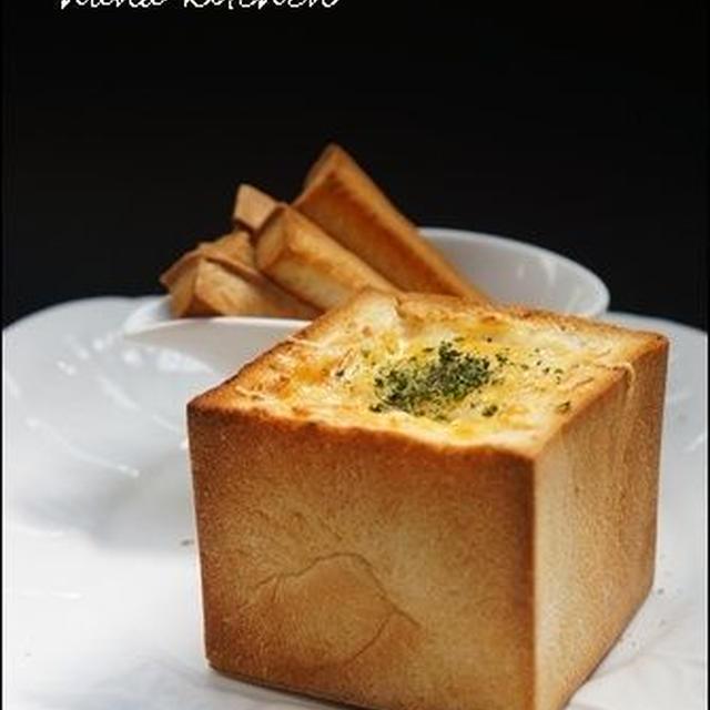 【簡単レシピ】キュートなパングラタン。