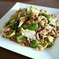 【回鍋肉風】お肉と野菜のピリ辛味噌炒め♪