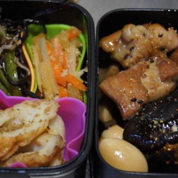 0913水 鶏もも肉と椎茸炒め煮