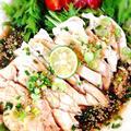 蒸し鶏にピリ辛ダレの四川料理!よだれ鶏(口水鶏)