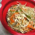 シリコンスチームなべで中華風野菜ときのこ蒸し by barbaさん