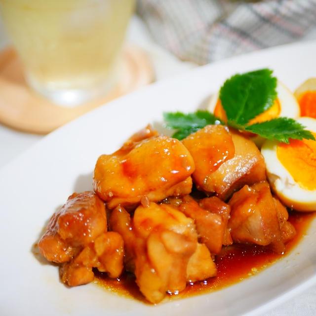 ほっておくだけ!「鶏肉と玉子の甘辛煮」
