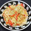 生からすみと春キャベツのスパゲッティ