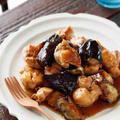 鶏肉となすの甘酢炒め【#簡単 #時短 #節約 #作り置き #10分おかず #2素材 #黄金比率 #主菜】