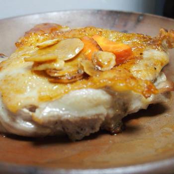 鶏もも肉のバリバリ焼き